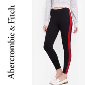 Abercrombie & Fitch Side Stripe Legging Pants